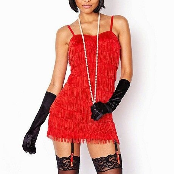 fredericks of hollywood flapper halloween costume